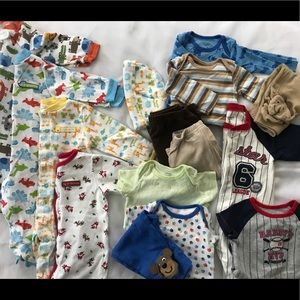 Lot of 16 Baby Boy 3 Months